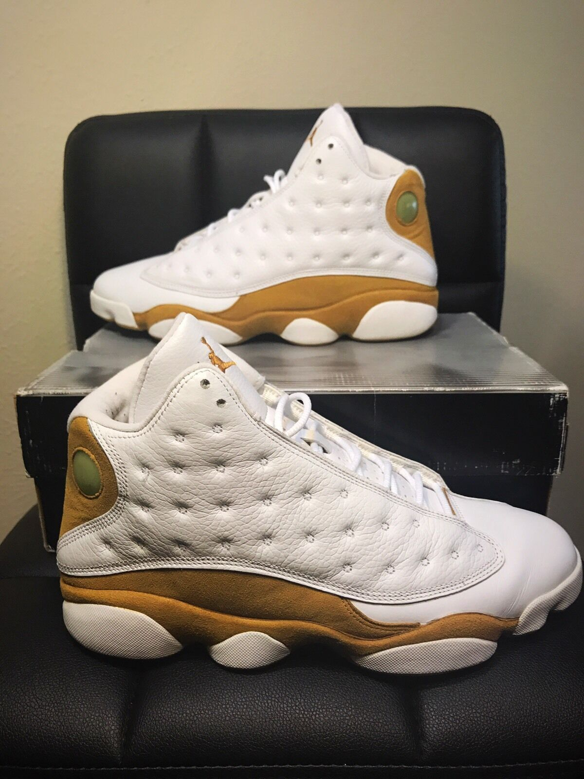 new products 5d261 3b2e4 ... coupon code for 2018 nike air trigos jordan 13 xiii retro trigos air  blanco trigo 309259