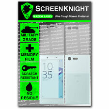 ScreenKnight Sony Xperia X Compact FULL BODY SCREEN PROTECTOR - military shield