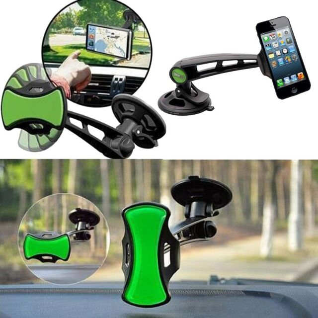 Universal Car Windshield Mobile Cell Phone Mount GPS Hands Navigation Holder New