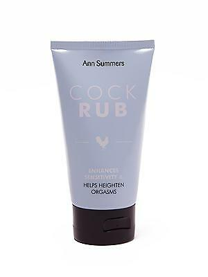 Ann Summers Np Cock Rub Gel Lotion Orgasm G Spot Lube Foreplay Enhancement üPpiges Design