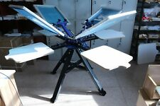 Top Grade Silk Screen Printing Press Machine Screen Printer T Shirt Diy 4 Color