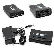 HDMI/MHL auf TV-Scart PAL/NTSC Video Konverter Adapterbox Outputbox