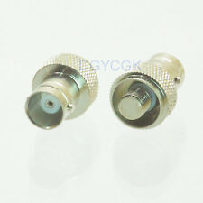 2pcs Conversion Adapter BNC female F to SMA no pin for motorola GP68 GP88 GP328