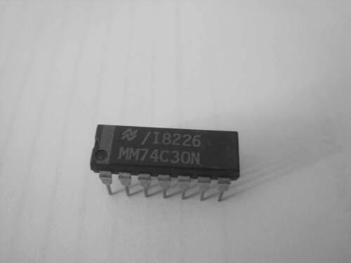 MM74C30N  8 Input nand gate  PDIP14   National SC 1pcs