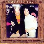 Dave on Dave * by David Massengill (CD, Sep-2007, Gadfly Records)