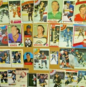 1969-70-80-039-s-NHL-Lot-Bobby-Orr-Gretzky-Mario-Lemieux-Crosby-Hull-Bossy-RC