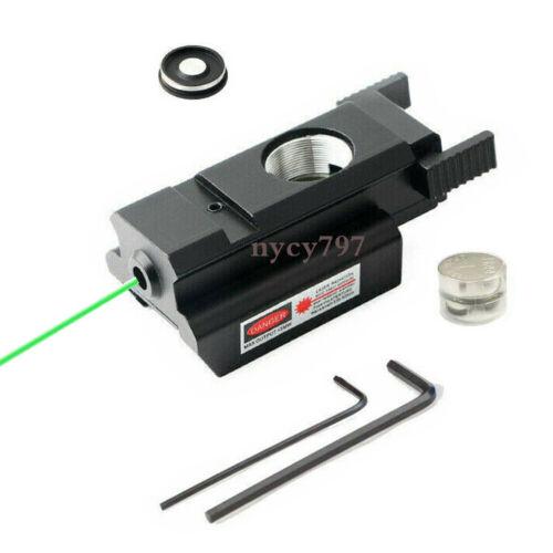 Mini Green Dot Laser Sight Low Profile Fit 20mm Picatinny Rail for Rifle Pistol