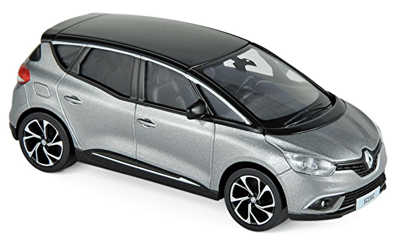 Generation 2016-18 Cassiopee Grey /& Black 1:43 Norev Renault Scenic 4