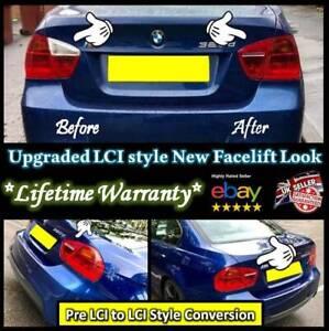 E91 Touring 3 Series LCI rear light tint Fits 2005-2008 BMW E90 saloon