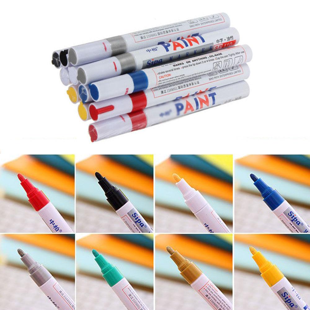1PC Waterproof Permanent Paint Marker Pen For Car Tyre Tire Tread Rubber Metal 8