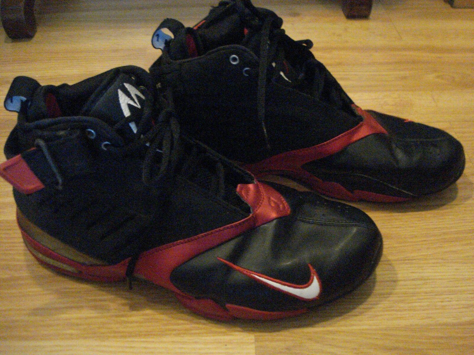 2003 Nike Air Zoom Vick 7 Black/Red  308252-001 Mens Size10.5