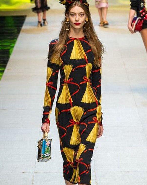 DMS  Women Designer Inspired Print Dress Dress Dress fbf869