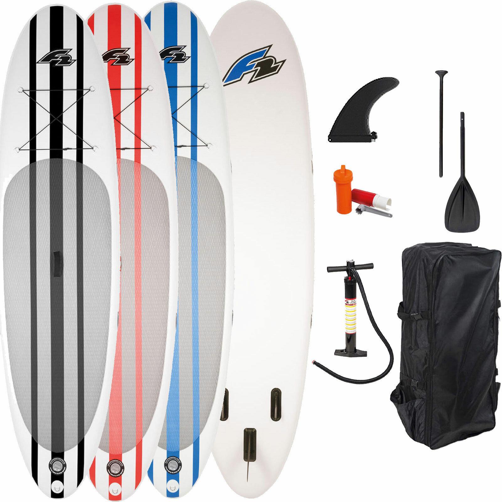 F2 Inflatable Basic Pro I-SUP Stand Up Paddle Board SET Paddleboard Surfbrett