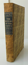 The Return of the Native by Hardy Wood Engravings By Agnes Miller Parker 1942