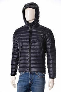 Doudoune-Homme-CP-Company-05CMOW018A-Veste-Impermeable-a-Capuche-Bleu-Brun