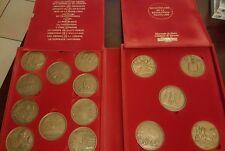 Coffret 15 Médailles bronze de la Monnaie De PARIS - Révolution française RARE