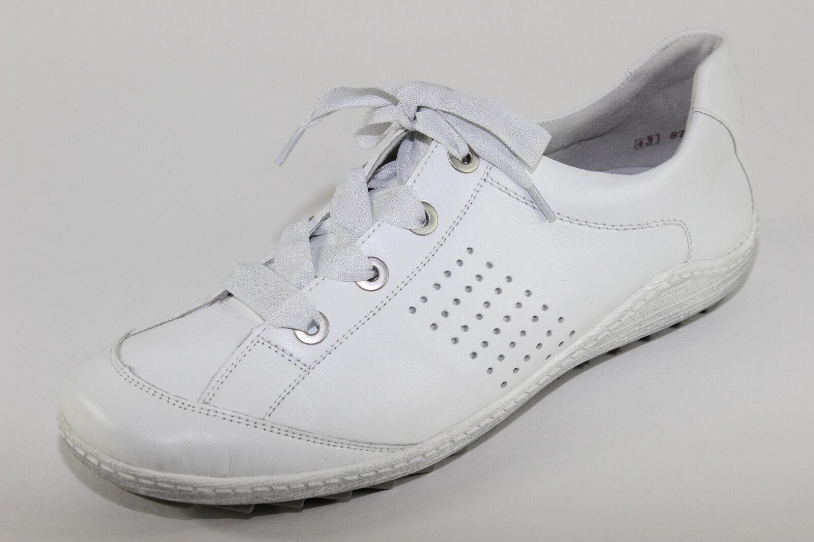 Remonte R1406-80, sportliche Sneaker aus Leder, Damenschuhe *Übergröße*