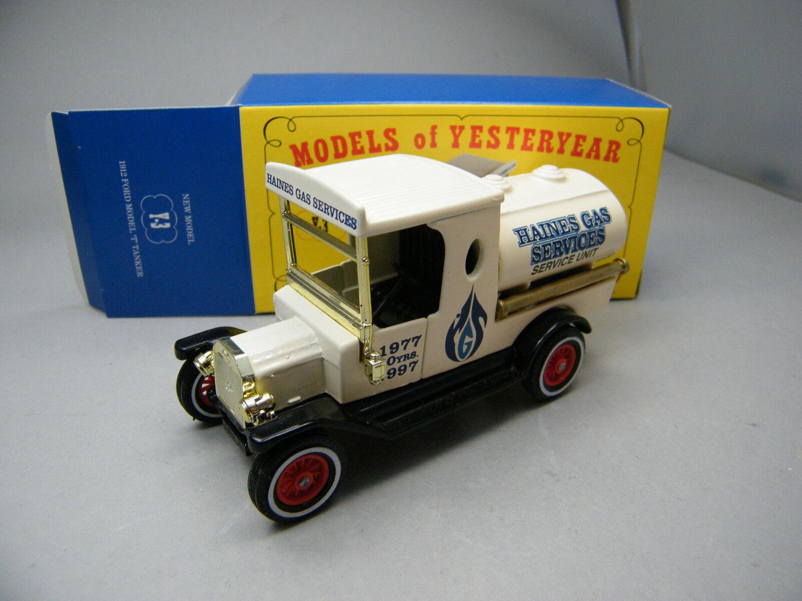 Matchbox MOY c2 y3 Ford  T Haines gaz Australie très rare voir photos neuf dans sa boîte k32  vente d'usine en ligne discount