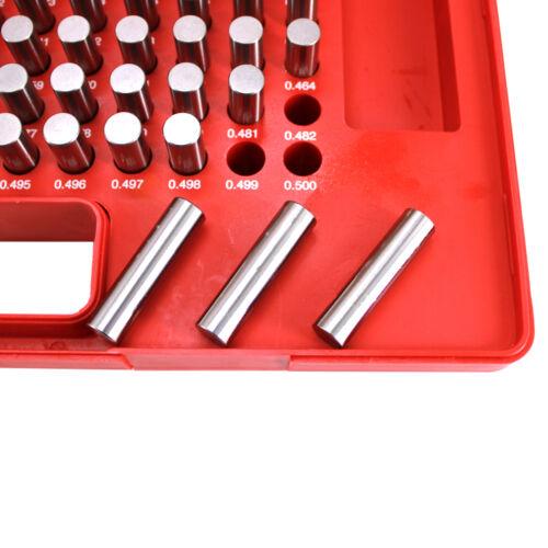 """R HFS 250 PCS 0.251-0.500/"""" M2 Class ZZ Steel Pin Gage Set Plus"""