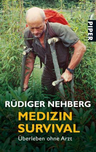 Médecine Survival medzinische d/'urgences Prepper Bushcraft EDC Rüdiger Nehberg
