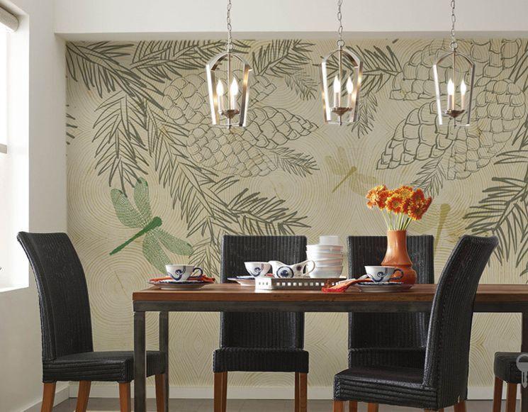 Huge 3D Fresh Fruit Line Paper Wall Print Decal Wall Deco Indoor wall Murals