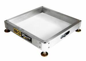 BG-Racing-Scale-Pad-Aluminium-Levelling-Trays-With-Steel-Feet-Set-Of-4