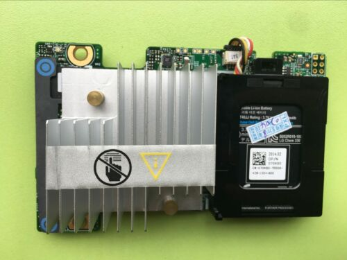 DELL PERC H710 MINI RAID Controller //512MB Battery 5CT6D MCR5X FRH64