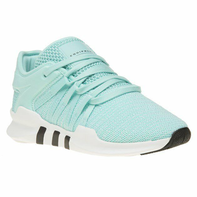 New Womens adidas Green bluee EQT Racing ADV Textile Textile Textile Trainers Running Style Lace e066dc