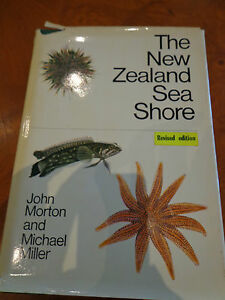 THE-NEW-ZEALAND-SEA-SHORE-BY-JOHN-MORTON-amp-MICHAEL-MILLER-REVISED-EDITION