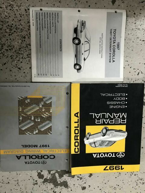 200toyota Tacoma Service Repair Shop Set Factory Book Set W Ewd 2 Volume Set And The Electrical Wiring Diagrams