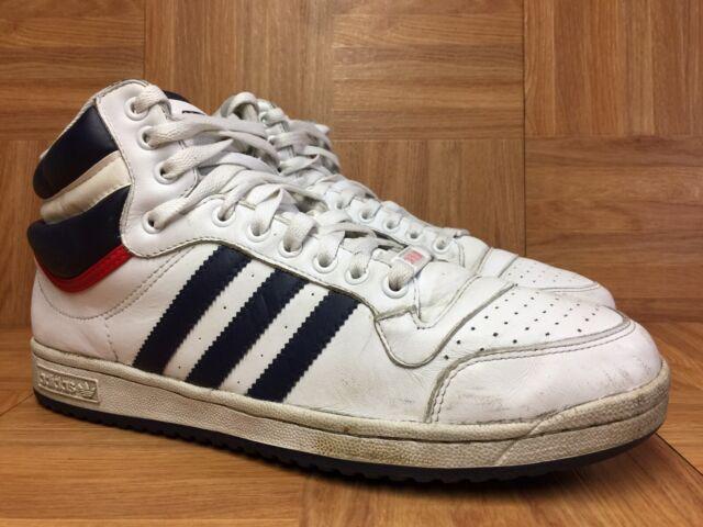 plus de photos ff6a1 bcb87 RARE🔥 Adidas Top Ten G09836 High White Blue Red Men's Sz 11 30th  Anniversary