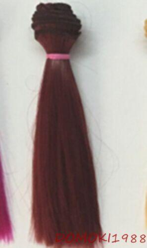 1 pcs New DIY Straight Hair Wig For BJD Doll SD Doll Yeluoli