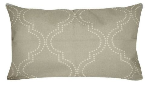 "12x20/"" Gray Linen Decorative Throw PILLOW COVER Sofa Couch Vintage Cushion Case"