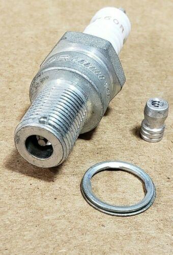 N-60R N60R each NOS Vintage Champion Motorcycle Racing Spark Plugs
