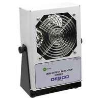 Desco 60515 High Output Benchtop Ionizer, 220vac, Nist, W/o Power Cord