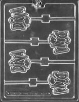 Diva Lollipop Chocolate Candy Mold Molds Birthday Party Favors