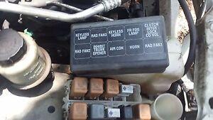 2000 nissan sentra relay center box under hood oem 2000 2001 1 8l ebay rh ebay com