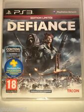 DEFIANCE EDITION LIMITEE PS3 DEFIANCE PLAYSTATION 3 NEUF CODE PLAYSTAION PLUS FR