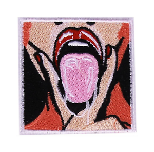 Sexy-Iron-On-Patch-Lips-Tongue-Oral-Porno-Porn-Girl-Woman-Naked-Hip-Hop-Skater