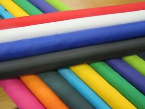 WATER-RESISTANT-RIPSTOP-FABRIC-MATERIAL-BY-THE-METRE-11-COLOURS-FREE-POST