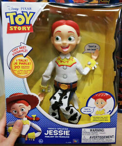 Toy-Story-20th-Anniversary-Jessie-ENGLISH-Speaking-Talking-Figures-Doll-Toy