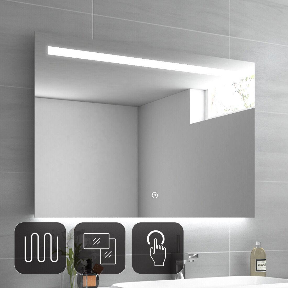 led mit badspiegel 100x70 beleuchtung mit badezimmerspiegel  leuchtspiegel neue wege gehen #5