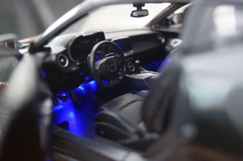 1:18 GRIGIO MAISTO Xenon 2017 CHEVROLET CAMARO FIFTY SS RS con LED-Illuminazione