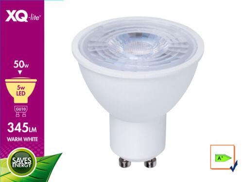 Warmweißes LED-Leuchtmittel 5 Watt 345 Lumen 3000 Kelvin GU10 // PAR16