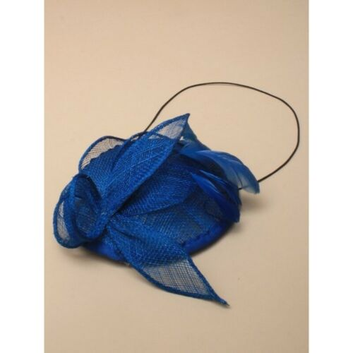 Hochzeit Eisvogel Blau Fascinator Hut Juliet Kappe Mit Kamm Ball Rennen