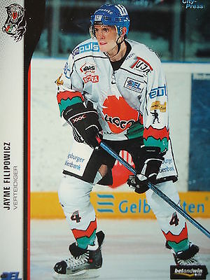 015 Jayme Filipowicz Augsburger Panther Del 2005-06-mostra Il Titolo Originale