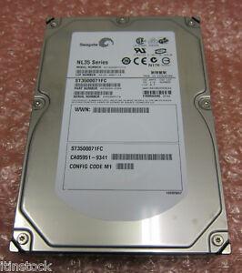 10-x-Seagate-500GB-7-2K-4Gb-Dual-Channel-FC-FATA-NL35-Hard-Drive-ST3500071FC