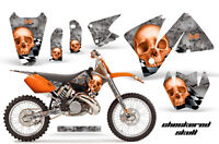 Ktm C3 Exc Mxc Graphics Kit Amr Racing Bike Decal Sticker Part 01-02 Checkered O