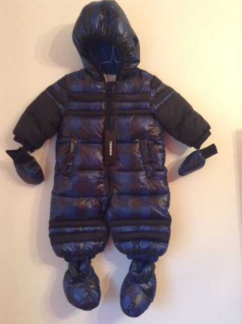 36a4fc0385b4 100 Auth Diesel Baby Boy DESIGNER Snowsuit. 9 Months. for sale ...