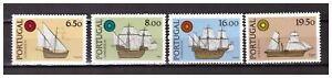 S24018-Portugal-MNH-1980-Lubrapex-Ships-4v